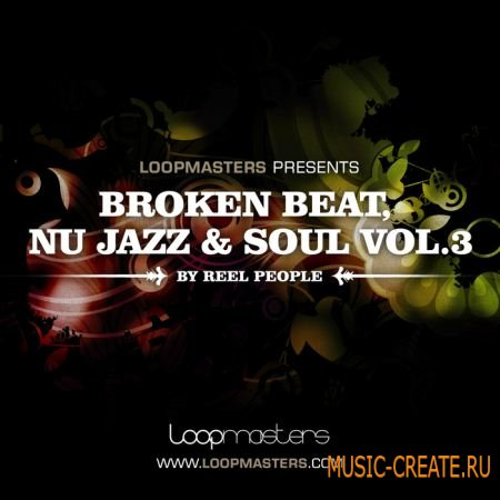 Loopmasters - Reel People: Broken Beat Nu Jazz and Soul Vol 3 (MULTIFORMAT) - сэмплы Breakbeat, Breaks, Broken Beats, Jazz, Soul, Funk