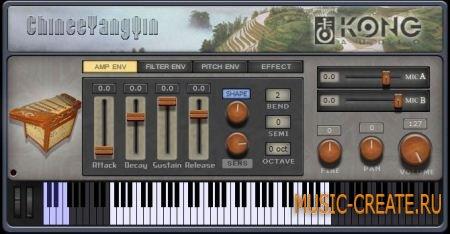 Kong Audio - ChineeYangQin 1.0.2 (ASSiGN) - китайский струнный музыкальный инструмент