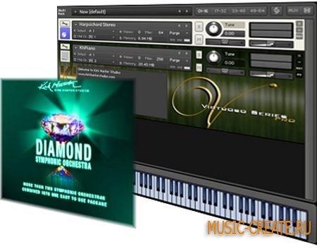 Kirk Hunter - Diamond: Percussion Complete (KONTAKT DVDR-SONiTUS) - библиотека перкуссий