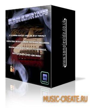 Sampleoidz - Super Guitar Loops Vol 1 (WAV) - сэмплы гитары