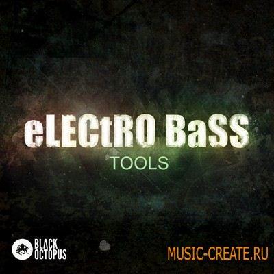 Black Octopus - Sound Electro Bass Tools (WAV) - сэмплы electro / complextro