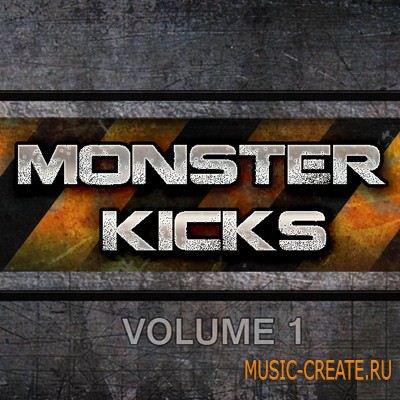Black Octopus - Sound Monster Kicks Volume 1 (WAV KONTAKT) - сэмплы Kicks