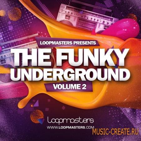 Loopmasters - Funky Underground Vol 2 (MULTIFORMAT) - сэмплы Funk, Deep, Jackin, Garage, Nu Disco, Funky, Soulful