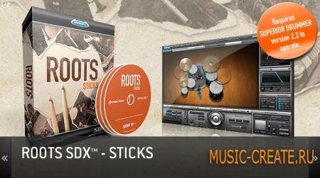 ToonTrack - Roots SDX v01 Sticks (EXPANSiON Superior Drummer)
