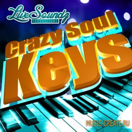 Live Soundz Productions - Crazy Soul Keys (WAV MIDI REASON) - сэмплы Broken Beat, Nu Jazz, Nu Soul