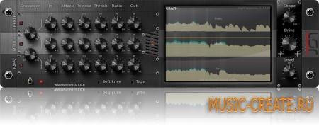 LSR Audio - WARMultipress VST v0.3.0 beta x86 x64 (Team: ST3RE0) - плагин ламповый многополосный компрессор