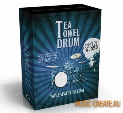 Wavesfactory - Tea Towel Drum (KONTAKT) - библиотека звуков ударных
