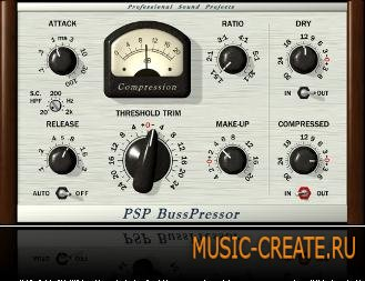 PSPaudioware - PSP BusPressor v1.0.0 VST x86 x64 Win (CHAOS) - плагин компрессор