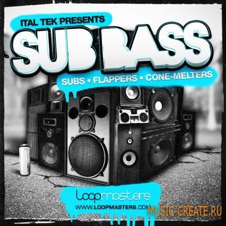 Loopmasters - Ital Tek Presents Sub Basses (MULTIFORMAT) - сэмплы Bass House, Drum and Bass, Dubstep, Jungle