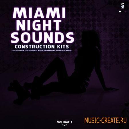 Golden Samples - Miami Night Sounds Vol.1 (WAV MIDI) - сэмплы Electro, Dirty Electro, Disco House, Progressive House, Deep House