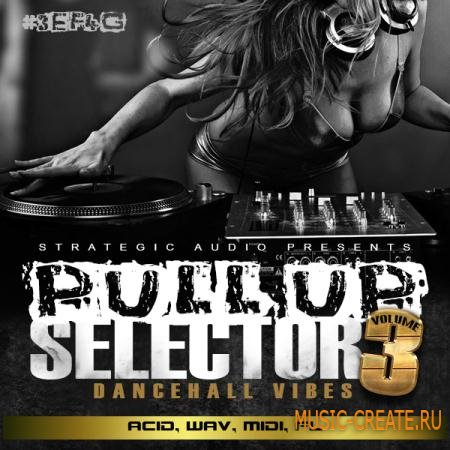 Strategic Audio - Pull Up Selector Dancehall Vibes Vol 3 (WAV ACID MIDI FLP) - сэмплы Dancehall