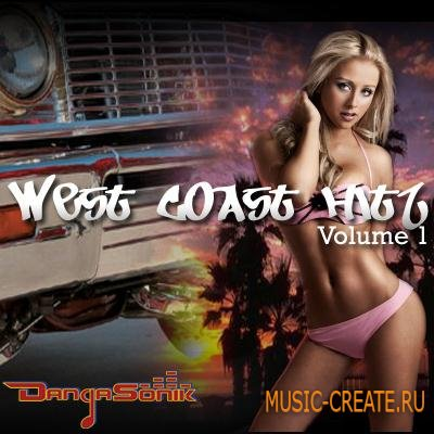 Dangasonik - West Coast Hitz Vol 1 (WAV MIDI APPLE LOOPS) - сэмплы West Coast Hip Hop