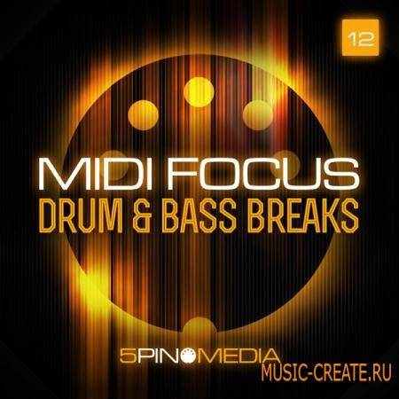 5 Pin Media - MIDI Focus: Drum & Bass Breaks (MULTIFORMAT) - сэмплы Drum & Bass