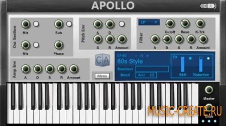 Cubic Audio - Apollo (Team VTX) - субстрактивный синтезатор