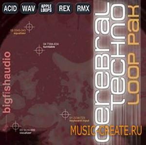 Big Fish Audio - Cerebral Techno Loop Pak (WAV AiFF REX RMX) - сэмплы Techno