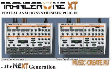 Sonic At Work - TrancerOne XT v1.0 (TEAM R2R) - аналоговый синтезатор