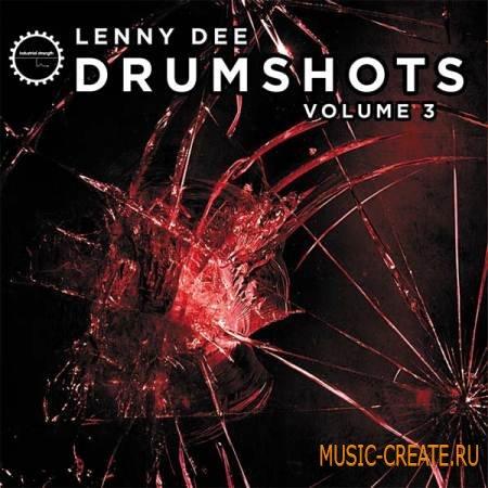 Industrial Strength Records - Lenny Dee - Drum Shots Vol.3 (MULTiFORMAT) - драм сэмплы