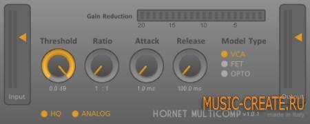 HoRNet - MultiComp v1.2.6 WiN / OSX (TEAM R2R) - звуковой процессор