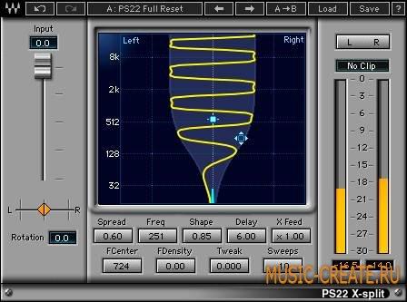 Waves - PS22 v9.1.0.9 WiN - плагин stereo enhancer