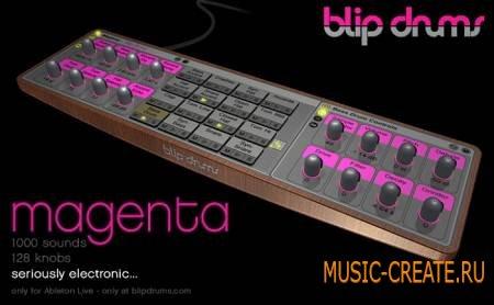 Blip Drums - Magenta (ALP - Ableton Live)