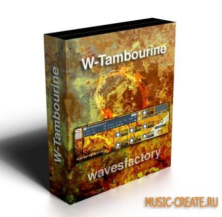 Wavesfactory - W-Tambourine (KONTAKT) - библиотека звуков тамбурина