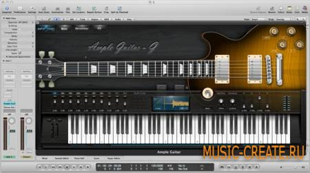 Ample Sound - AGG v1.1.0 Incl Keygen with Library WiN/OSX (TEAM R2R) - инструмент и сэмплы гитары Gibson Les Paul
