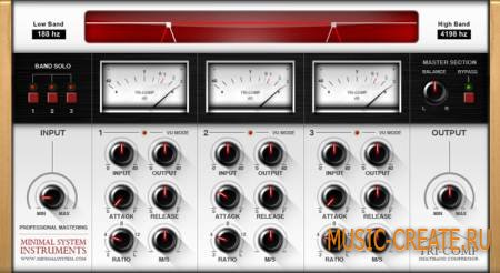 Minimal System Instruments - Tri-Comp VST v1.0 (TEAM ST3RE0) - плагин компрессии