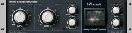 Minimal System Instruments - Punch Compressor 3 VST v3.0 (TEAM ST3RE0) - плагин компрессии