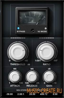 Minimal System Instruments - Buss Compressor VST v1.0 (TEAM ST3RE0) - плагин компрессии