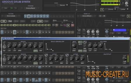 IMEA Studio - Groove Drum Synth v1.5.0 WiN / OSX (TEAM R2R) - драм-машина