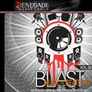 Renegade Media - Blast vol 2 (ACID AiFF REFiLL REX) - сэмплы hip hop, R&B, urban pop