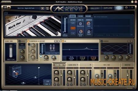 XLN Audio - Mark One (TEAM R2R) - электрическое фортепьяно
