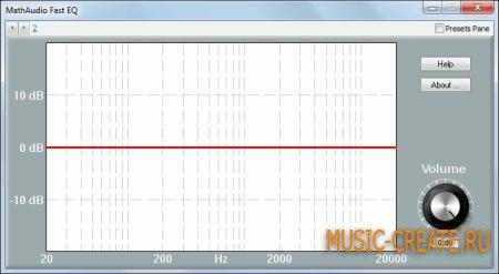 MathAudio - Fast EQ v1.0.5 (TEAM R2R) - плагин эквалайзер