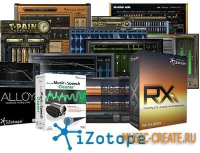 iZotope - Products Collection (Win/Mac) Updated - сборка плагинов