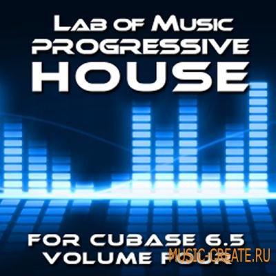 Lab of Music – Progressive House Cubase 6.5 Project Vol 4