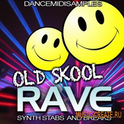 Dance MIDI Samples - Old Skool Rave (WAV) - сэмплы Old Skool Rave