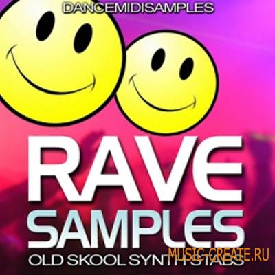 Dance MIDI Samples - Rave Samples (WAV MIDI) - сэмплы Rave