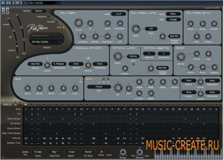 Rob Papen RG v1.6.2g CE (TEAM V.R) - синтезатор ритм-гитары