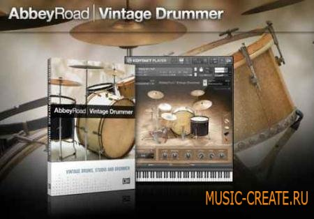 Native Instruments - Abbey Road: Vintage Drummer (KONTAKT) - библиотека ударных