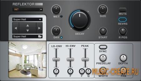 Native Instruments - Reflektor v1.2.0 Win & MacOSX (TEAM R2R) - эффект для Guitar Rig 5