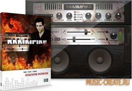 Native Instruments Rammfire v1.1.0 Win & MacOSX (TEAM R2R) - гитарный процессор для Guitar Rig 5