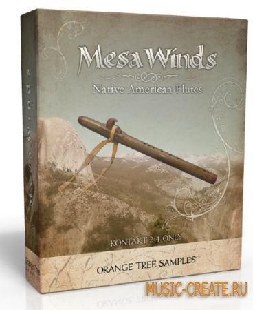 Orange Tree Samples - MesaWinds (KONTAKT -MAGNETRiXX) - библиотека звуков индейской флейты