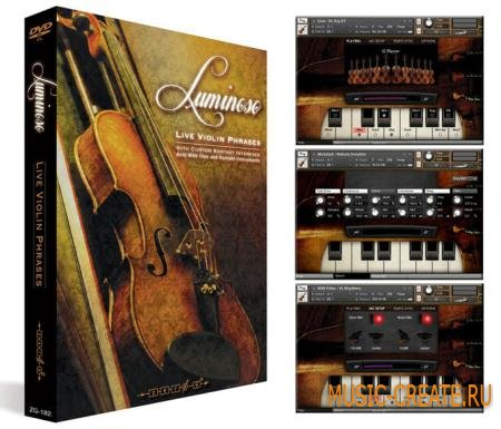 Zero-G - Luminoso: Live Violin Phrases (KONTAKT REPACK -MAGNETRiXX) - библиотека скрипки