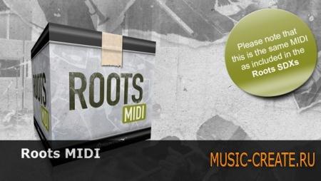 Toontrack - Roots MIDI (MIDI)