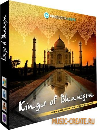 Producer Loops - Kings of Bhangra Vol 1 (MULTiFORMAT DVDR) - сэмплы индийских инструментов