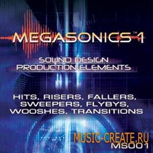 Sound Ideas - Megasonics Sound Design SFX (WAV) - звуковые эффекты