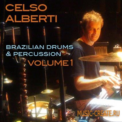 The Loop Loft - Celso Alberti Brazilian Drums and Percussion Vol.1 (MULTiFORMAT) - сэмплы ударных