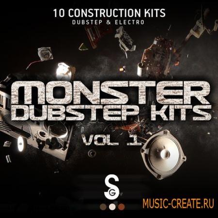 Golden Samples - Monster Dubstep Kits Vol 1 (WAV MiDi) - сэмплы Dubstep, Electro House