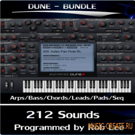 Rob Lee Music - Synapse for Dune Bundle - пресеты для Synapse Dune