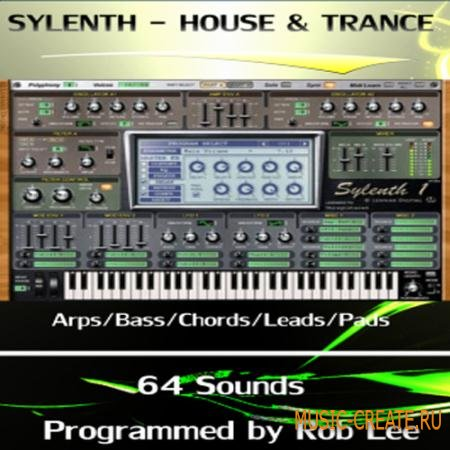 Rob Lee Music - House & Trance - пресеты для Synapse Dune